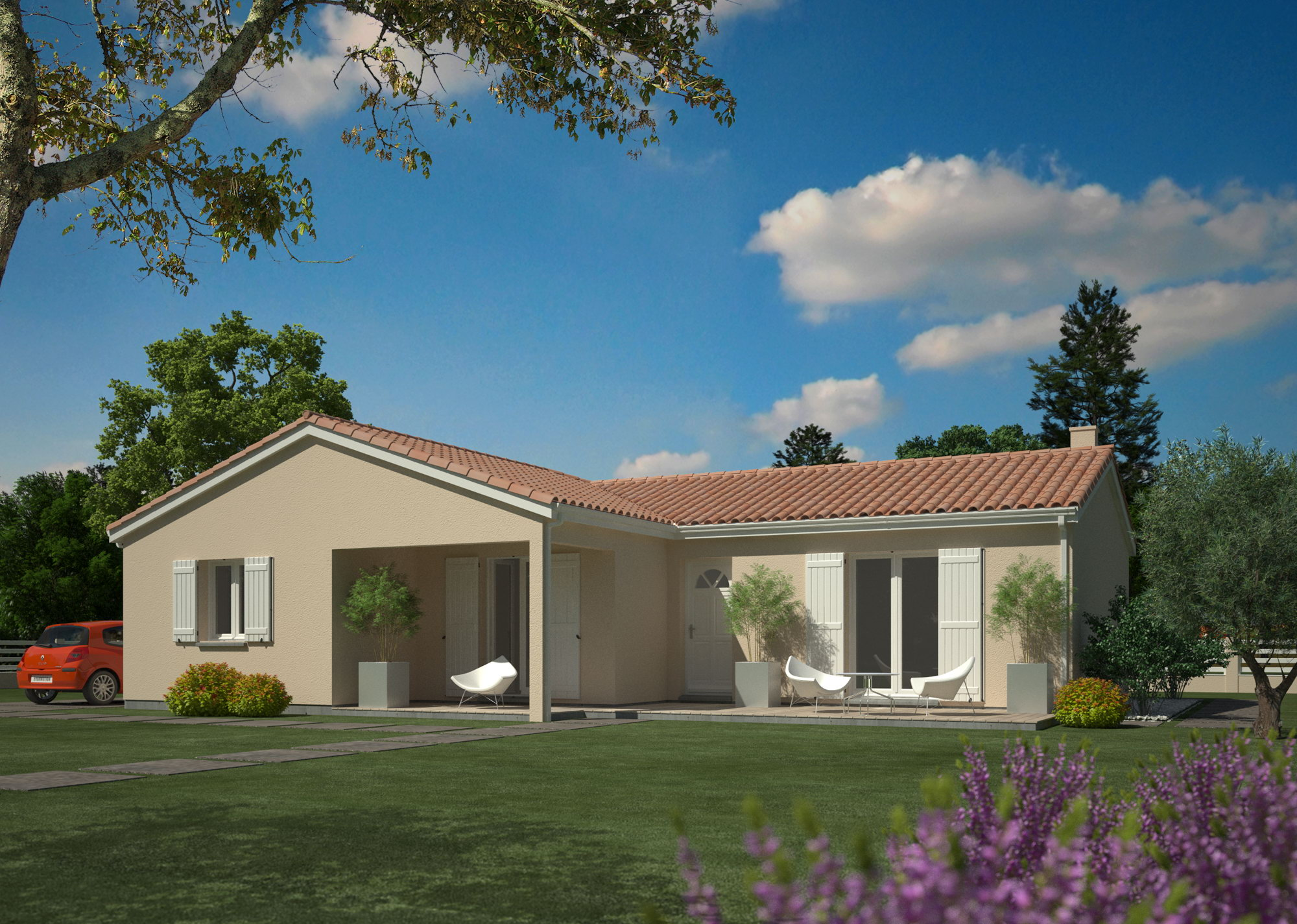 Les maisons by chantal b constructeurs de france for Maisons chantal b