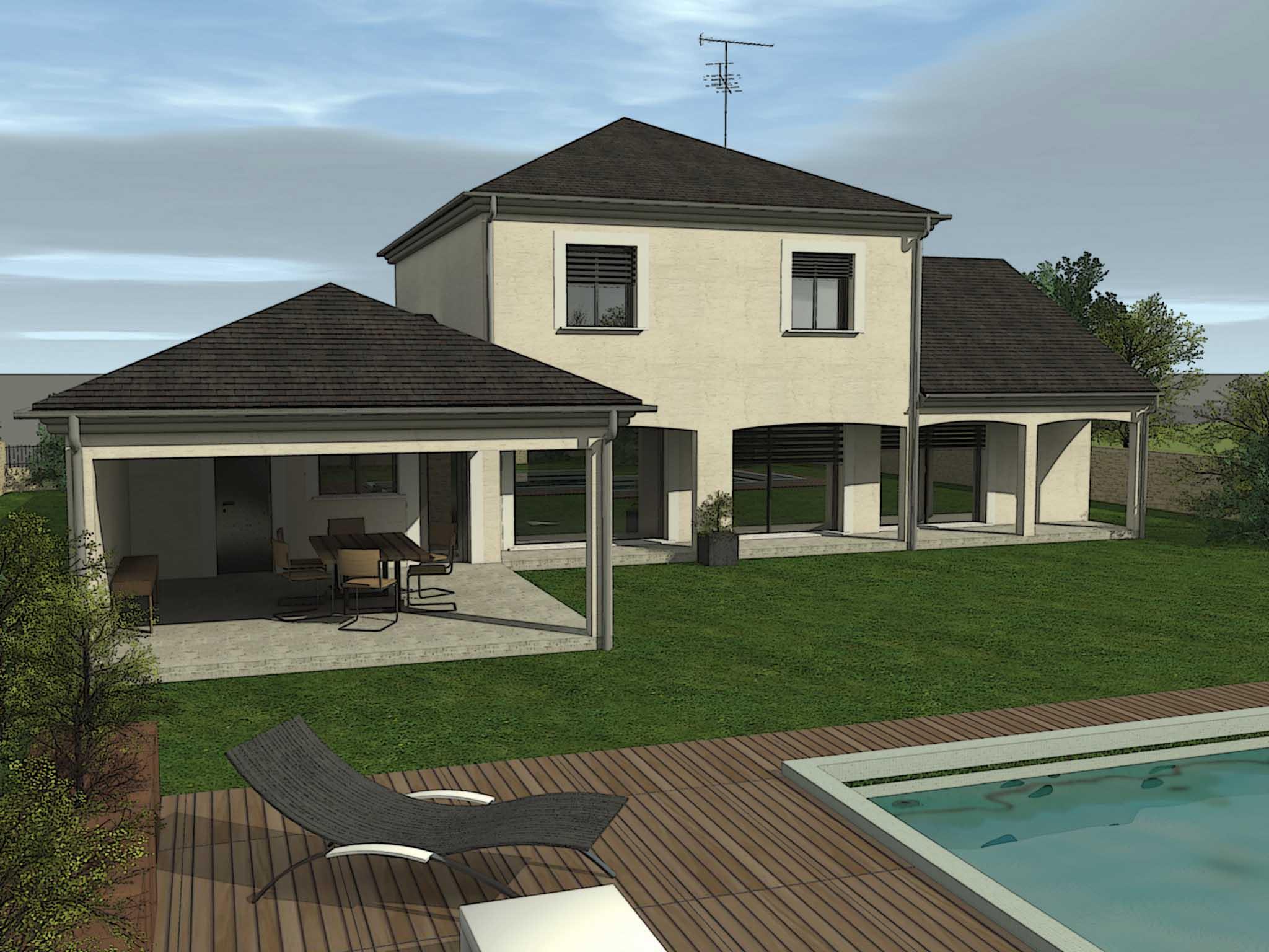 Maisons 2b3d constructeurs de france for Constructeur bourges