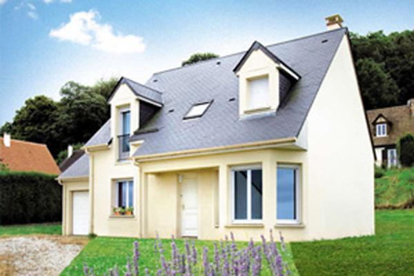 Maison familiale constructeurs de france for Modele maison geoxia
